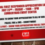 First Responder's Luncheon